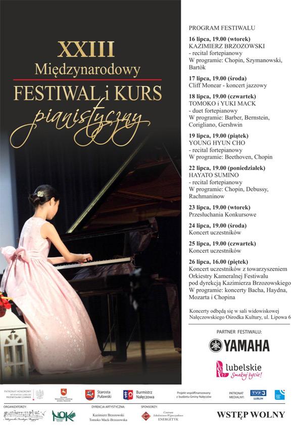 International Piano Festival — Summer in Chopin's Homeland